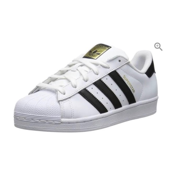 Adidas zapatos blanco superestrellas poshmark